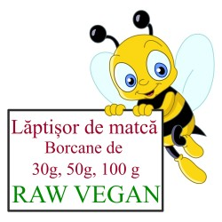 Laptisor de matca raw vegan